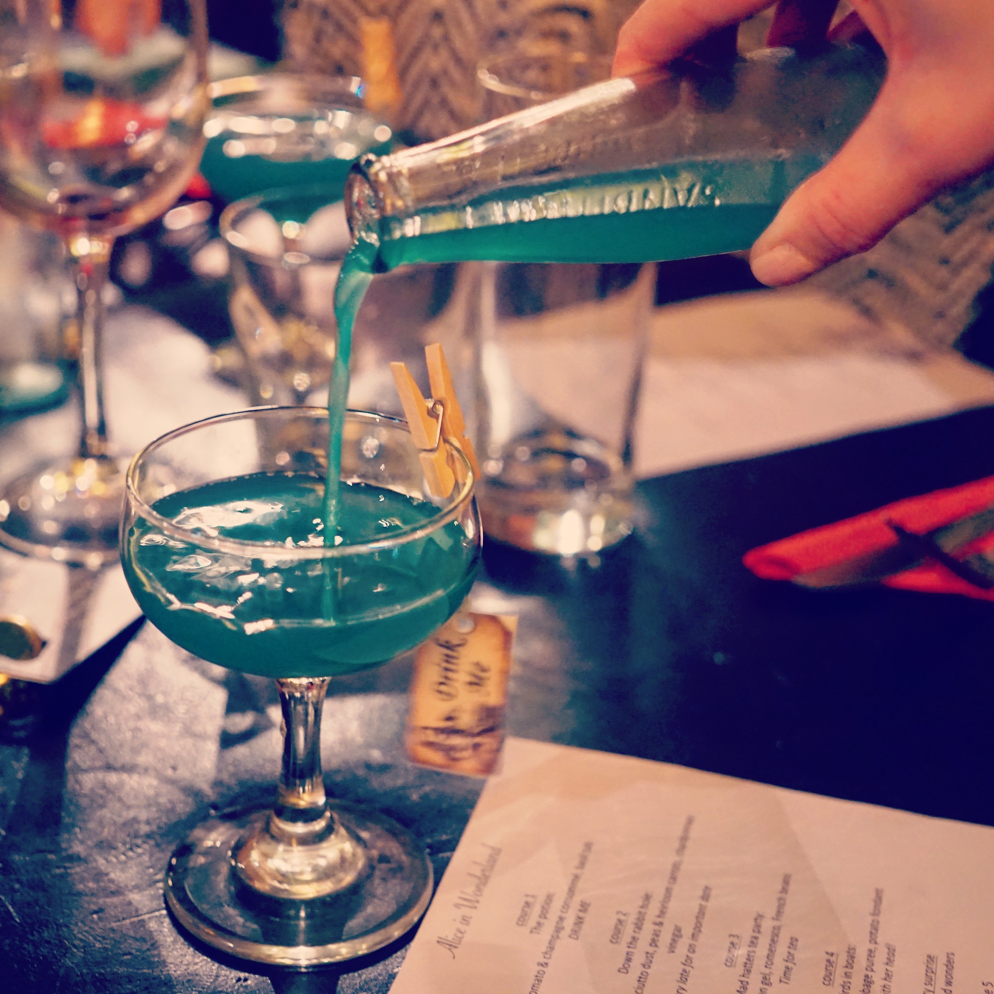 "<p style=""text-align: center;""><em><strong>""Now this is curious! What could a rabbit possibly be late for?""</strong></em></p>