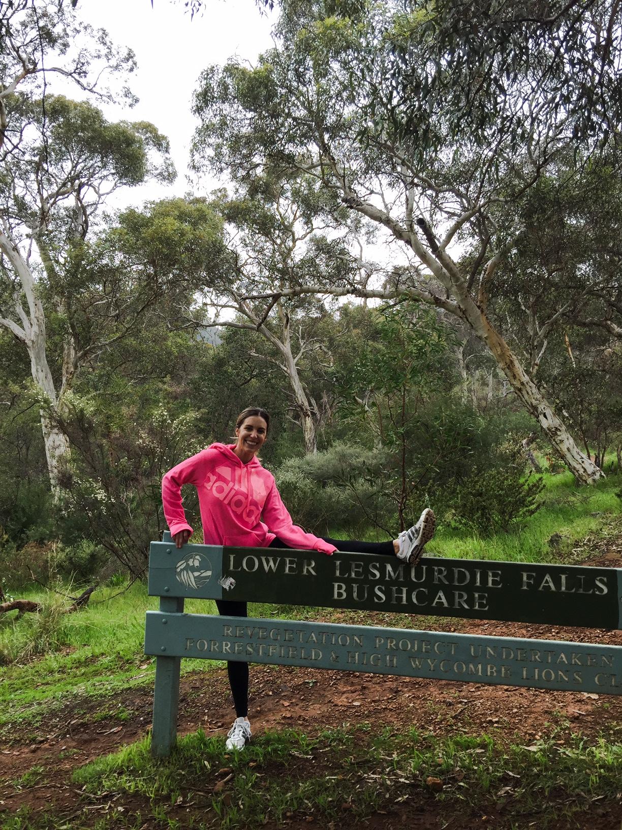 Chasing Waterfalls at Lesmurdie Falls - Perth Blogger Katie Rebekah