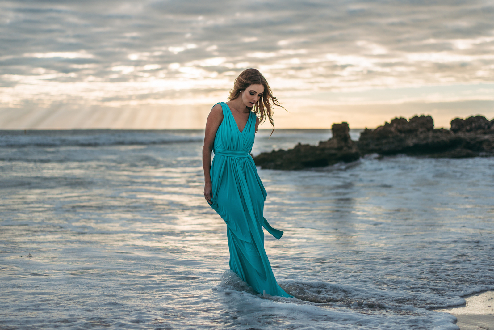 Stormborn - Ocean Reef Beach shoot Perth Blog - Katie Rebekah