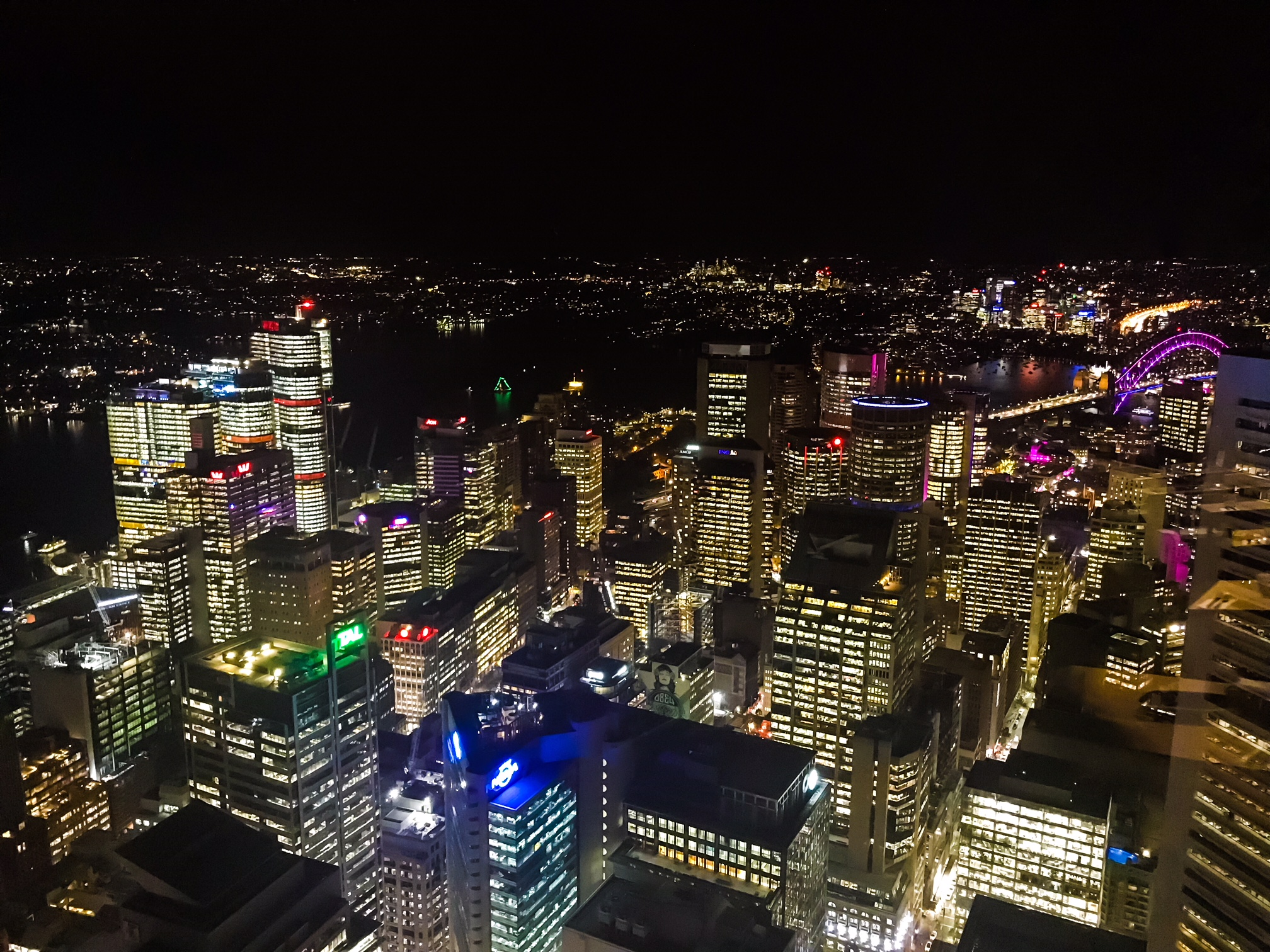 Vivid Views - Sydney Westfield Tower and Vivid Festival - Perth Blogger - Katie Rebekah